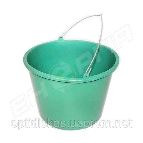 Ведро пластиковое 14 литров Цветное