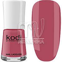 Лак для ногтей Kodi Professional №013, 15 мл спокойный темно-розовый