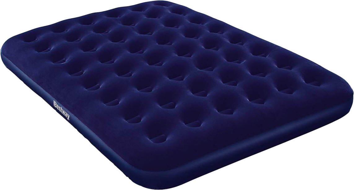 Двухместный надувной матрас Pavillo Bestway 67003 с велюровым покрытием 152х203х22 см