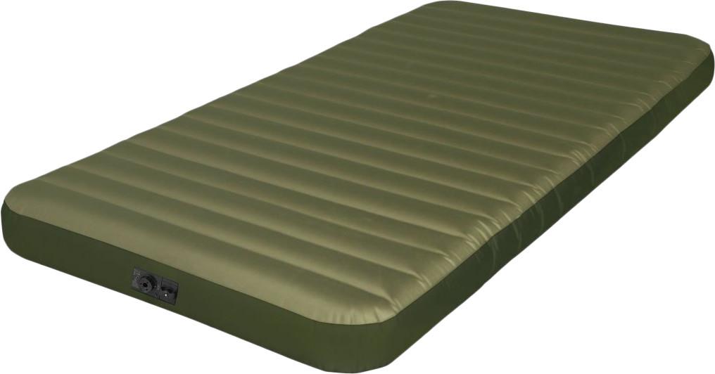 Одноместный надувной матрас Intex 68727 со встроенным электрическим насосом 99х191х20 см