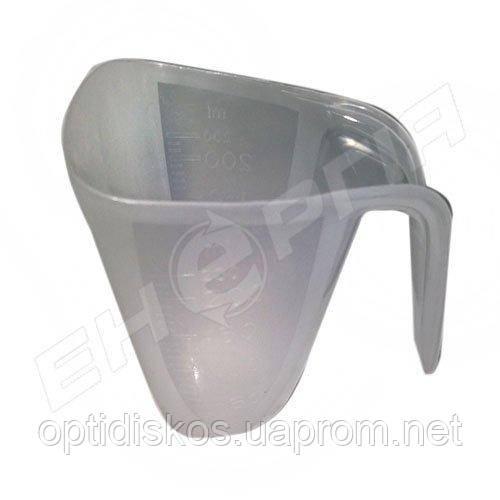 Мерный стакан 200мл с ручкой для бытовой и автохимии