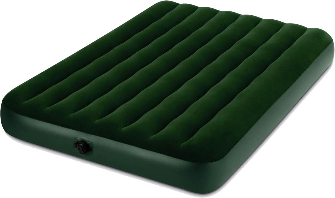 Полуторный надувной матрас Intex 66968 с электрическим насосом 137х191х22 см