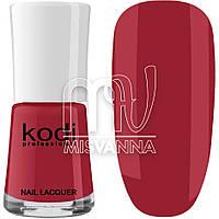 Лак для ногтей Kodi Professional №016, 15 мл малиновый
