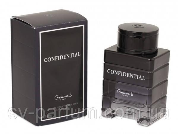 Туалетная вода мужская Confidential 90ml