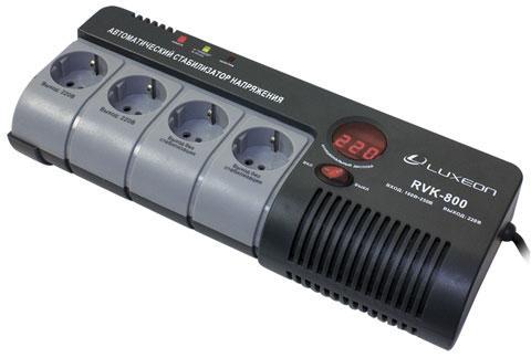 Стабилизатор напряжения Luxeon RVK-800 (релейный)