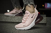 Женские кроссовки Nike 270 Pink ( Реплика )