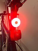 Задний фонарь мигалка для велосипеда USB зарядка