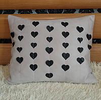 Декоративная подушка ручной работы 50 см, фото 1