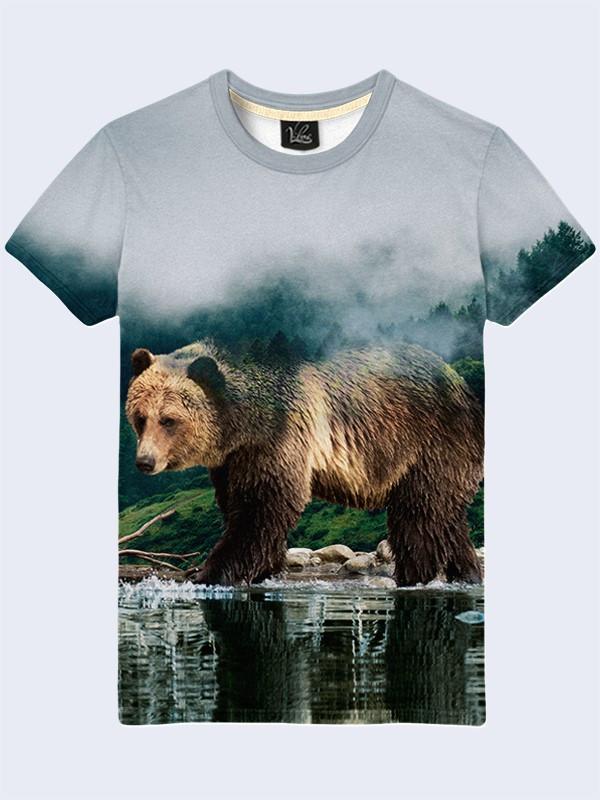 Футболка Медведь в лесу
