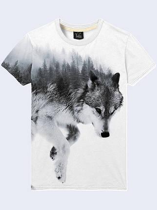 Футболка Волк в лесу, фото 2