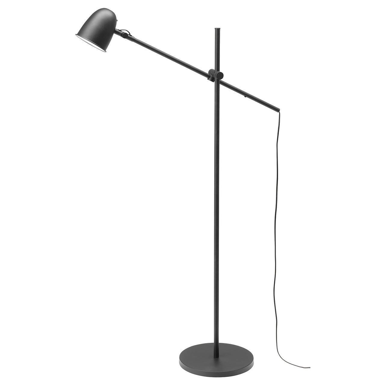IKEA SKURUP Торшер, черный  (003.566.32)