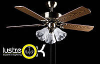 Люстра-вентилятор Потолочный вентилятор SF-6203M AB