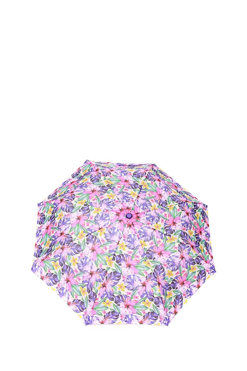 Зонт-полуавтомат Gianfranco Ferre GR-1_фиолетовые цветы женский