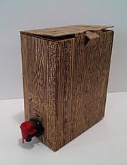 """Коробка 3 л """"Дерево""""  печать 1 цвет"""