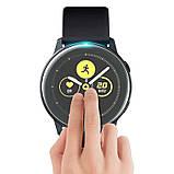 Защитная пленка 3D для смарт часов Samsung Galaxy Watch Active (SM-R500), фото 4