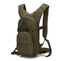 Рюкзак тактический городской, велорюкзак, слинг, компактный TacticBag 15 л. (зеленый)