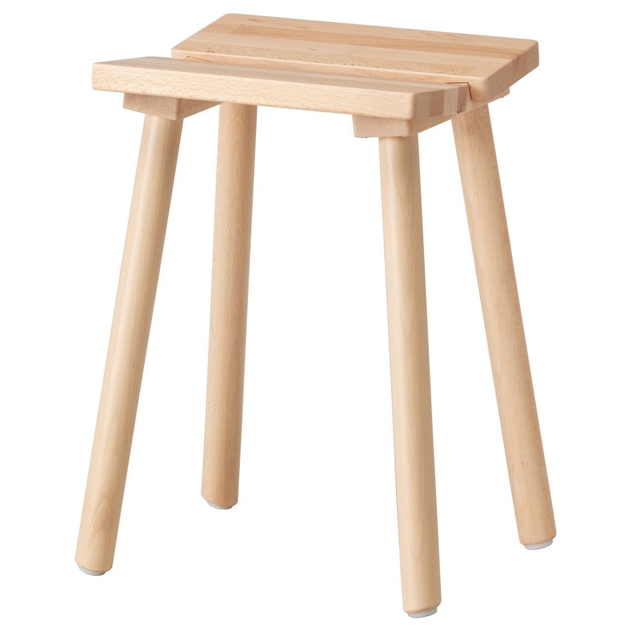 IKEA YPPERLIG Табурет, бук  (203.453.79)