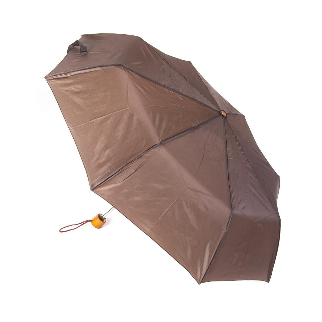 Зонт механический C-Collection Коричневый (525)