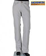 Джинсы мужские светлые,Стильные мужские брюки .