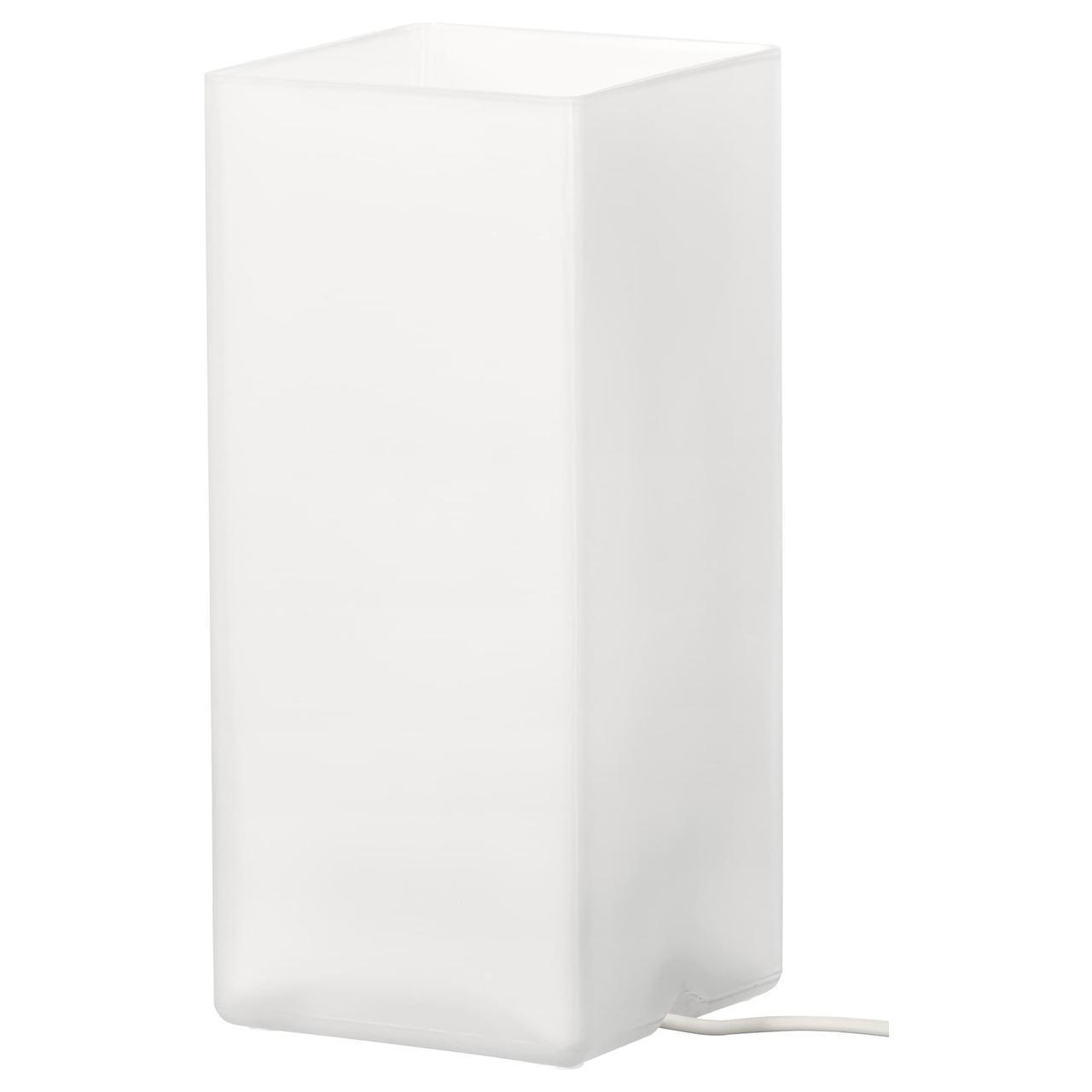IKEA GRONO Наcтольная лампа, матовое стекло белое  (203.732.25)