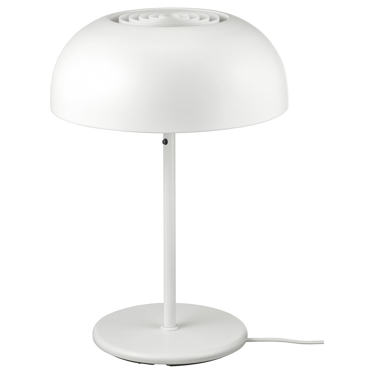 IKEA NYMANE Наcтольная лампа, белый  (203.367.61)