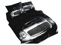Комплект постельного белья 3D Luna Home NR 006 Oulaiya 2908 Черный