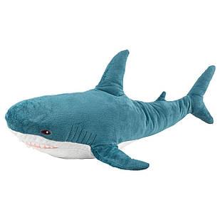 IKEA BLAHAJ Мягкая игрушка, акула  (303.735.88)