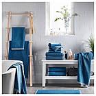 IKEA VIKFJARD Банное полотенце, синий  (904.147.36), фото 2