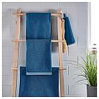 IKEA VIKFJARD Банное полотенце, синий  (904.147.36), фото 3