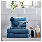 IKEA VIKFJARD Банное полотенце, синий  (904.147.36), фото 4