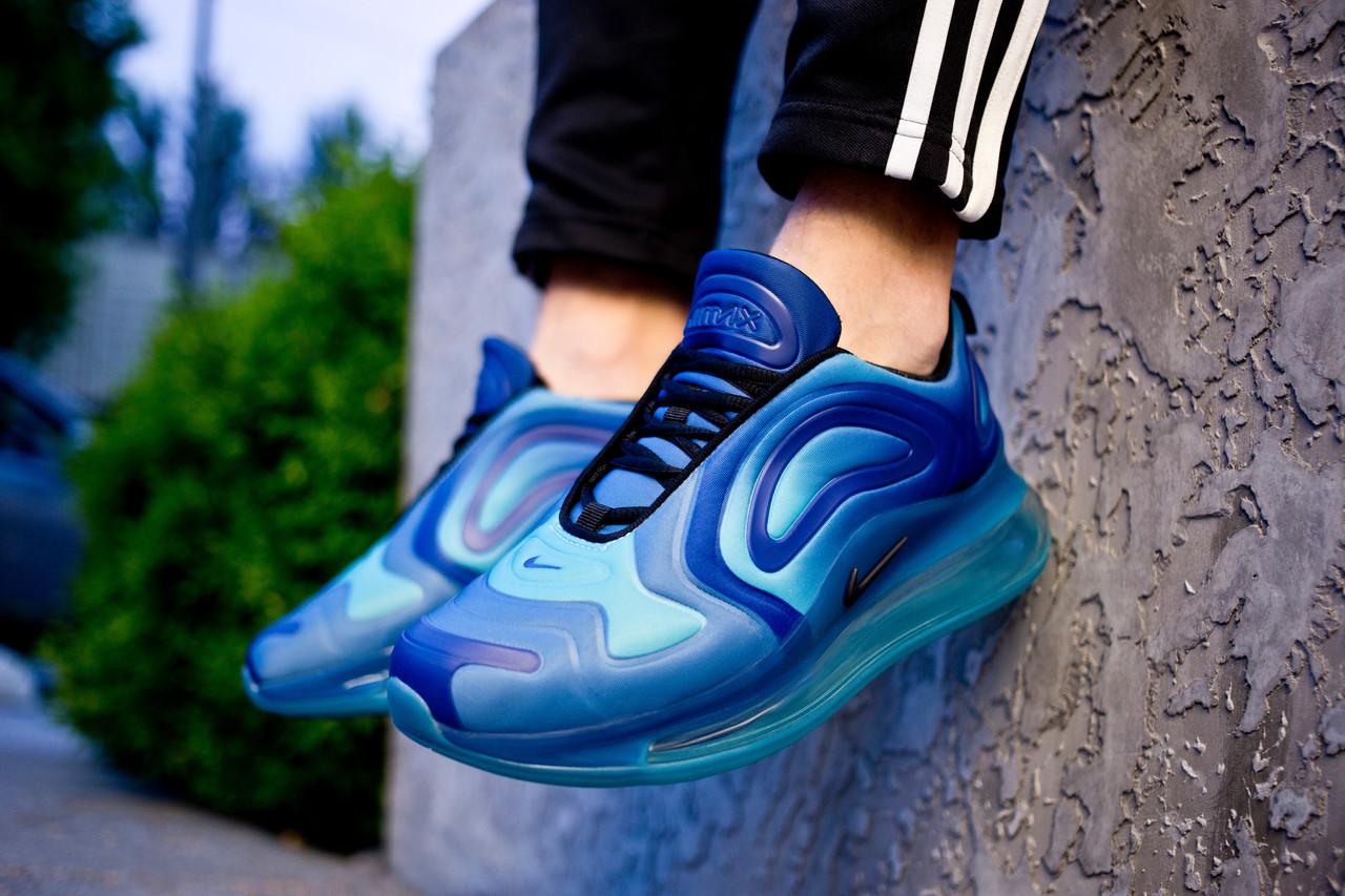 Мужские кроссовки Nike Air Max 720 Blue  ( Реплика ) Остался 44 размер
