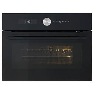 IKEA FINSMAKARE Микроволновая печь с конвекцией, черная  (504.117.68)