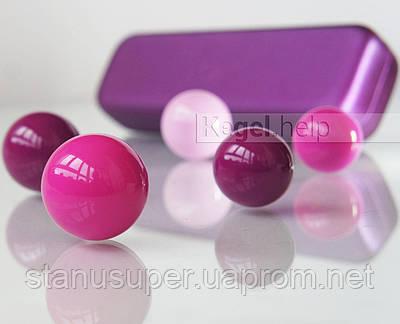 Набор для занятых: вагинальные шарики VAGITON Balls для упражнений Кегеля целый день каждый день.