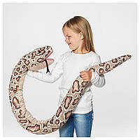 IKEA DJUNGELSKOG Мягкая игрушка, змея, питон бирманский (404.028.11)