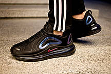 Мужские кроссовки Nike Air Max 720 Black/Purple ( Реплика ) Остался 43 размер, фото 3