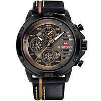 Мужские часы Naviforce 1272 Черные