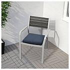 IKEA FROSON/DUVHOLMEN Подушка для садового кресла, синий  (792.534.57), фото 2