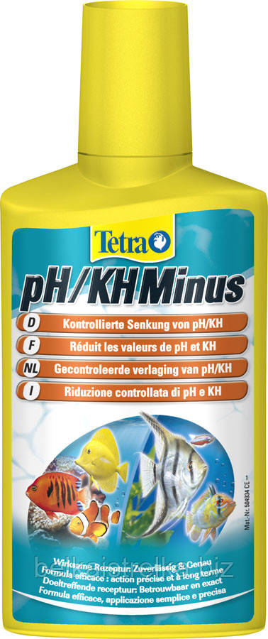Tetra Aqua PH/KH Minus 250ml, на 1000л