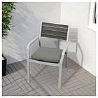 IKEA FROSON/DUVHOLMEN Подушка для садового кресла, темно-серый  (292.534.45), фото 2
