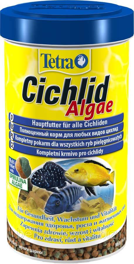 Корм для рыб Tetra Cichlid Algae, 500 мл