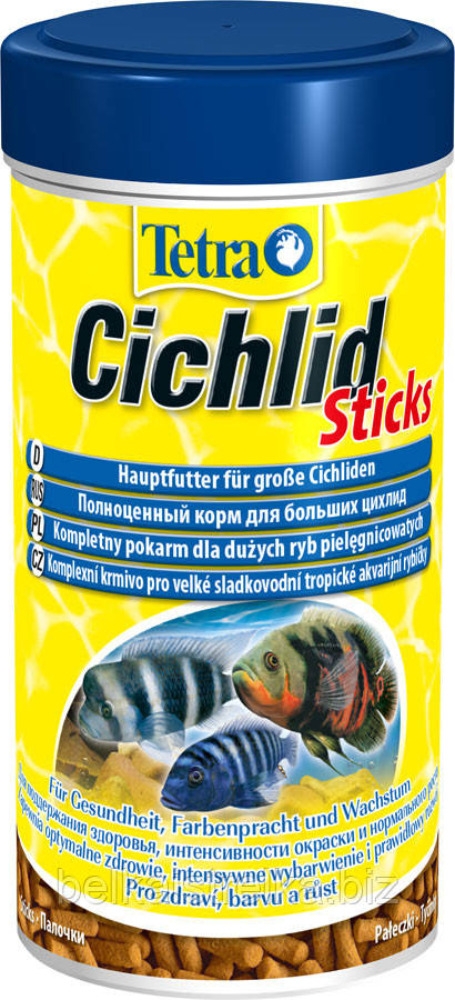 Корм для цихлид Tetra Cichlid Sticks, 250 мл 157170