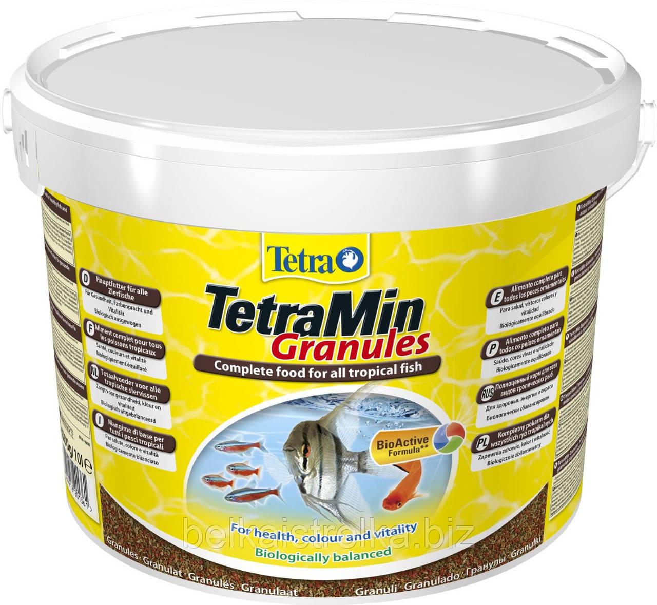 Корм для декоративных рыб Tetra Min Granules 10 000 мл, 201361