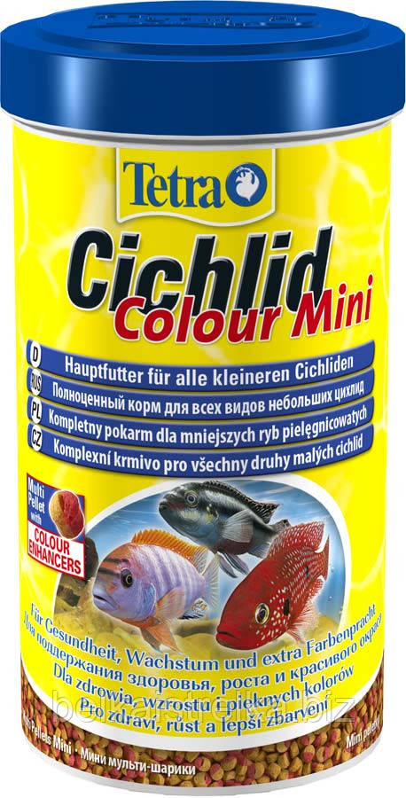 Корм для цихлид Tetra Cichlid Color Mini 500 мл 197367