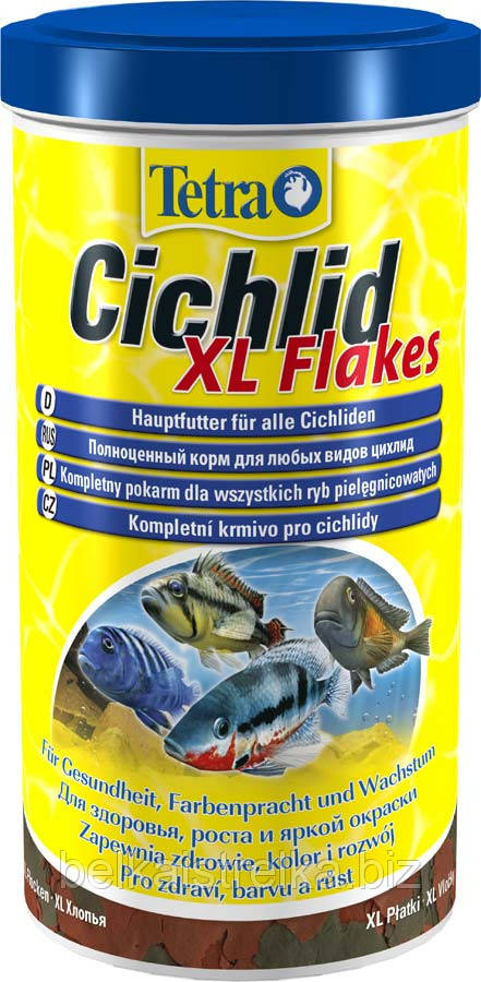 Корм для цихлид Tetra Cichlid Flakes XL, 500 мл 139985