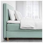 IKEA DUNVIK Кровать, Хoвaг жесткий, Tuddal светло-бирюзовый  (991.868.05), фото 2