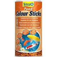Корм для прудовых рыб Tetra Pond Colour Sticks, 1 л