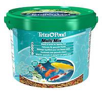 Корм для прудовых рыб Tetra Pond Multi Mix, 10 л