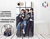 Силиконовый чехол для Samsung G973 Galaxy S10  Группа БТС 4 (28233-3187)