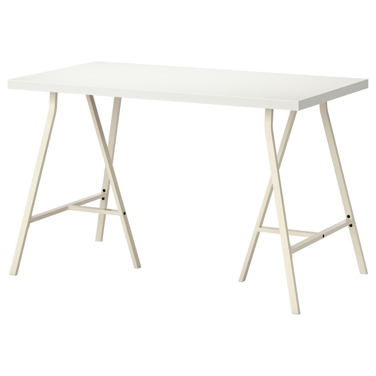 IKEA LINNMON/LERBERG Стол, белый  (090.007.03)