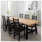 IKEA SKOGSTA/KAUSTBY Стол и 6 стульев, акация, коричневый  (492.462.94), фото 2